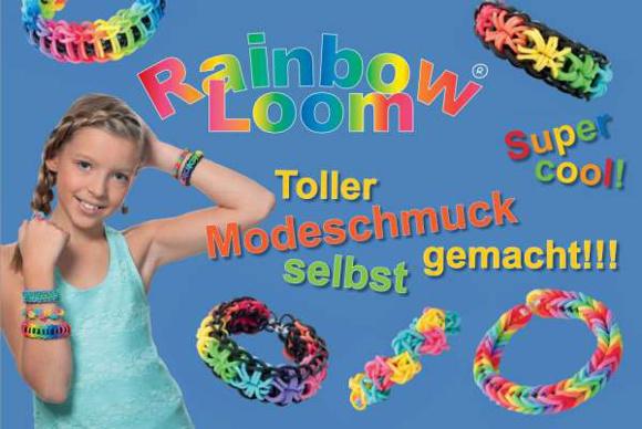 Toller Modeschmuck mit Rainbow-Loom