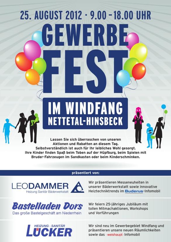 Plakat Gewerbefest